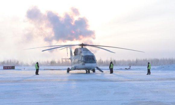 Вертолет Ми-38 испытали при экстремально низких температурах